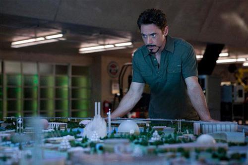 Iron Man 2, Copyright Paramount Pictures France