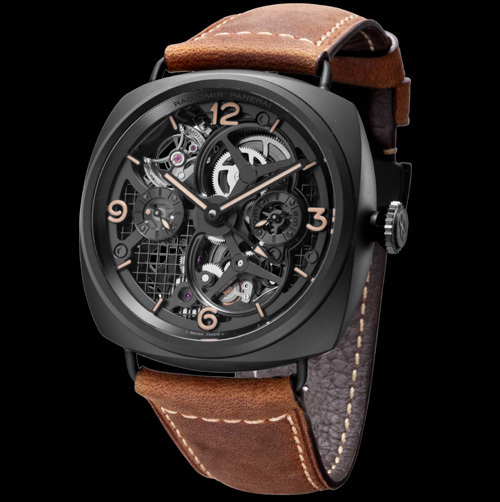 Officine Panerai Radiomir Tourbillon GMT Ceramica Lo Scienziato