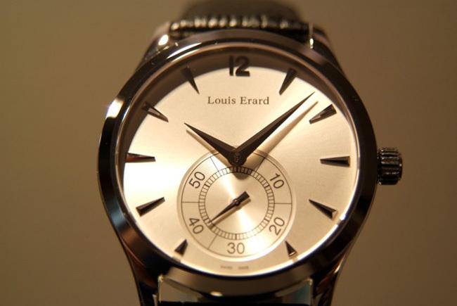Louis Erard 1931 : retour aux montres non surdimensionnées et plates