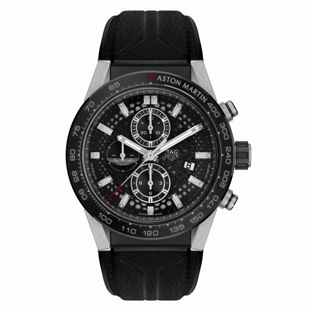 TAG Heuer chronographe Edition Spéciale Aston Martin