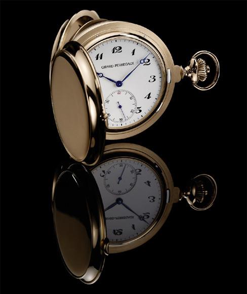 Montre de poche Girard-Perregaux Tourbillon sous trois Ponts d'or : une invitation à voyager dans le temps