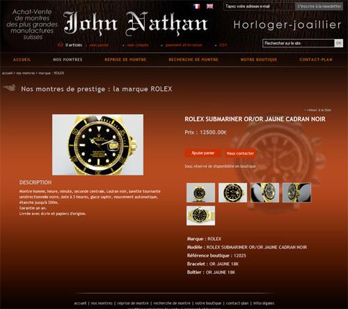 John Nathan : historiquement, la première boutique de montres d'occasion à Lyon