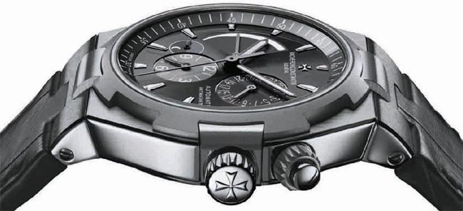 Vacheron Constantin Overseas Dual Time automatique acier et titane