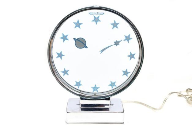 Old-time-heure : une somptueuse pendulette Mystérieuse Comète de chez Jaeger-LeCoultre