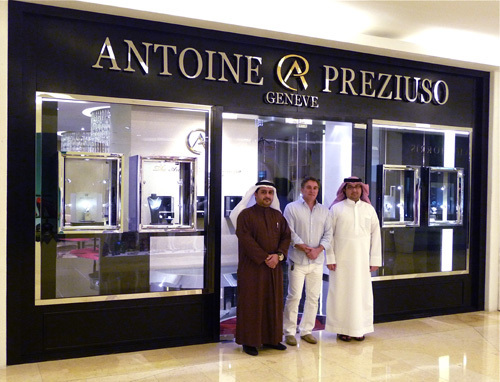 Antoine Preziuso Dubaï