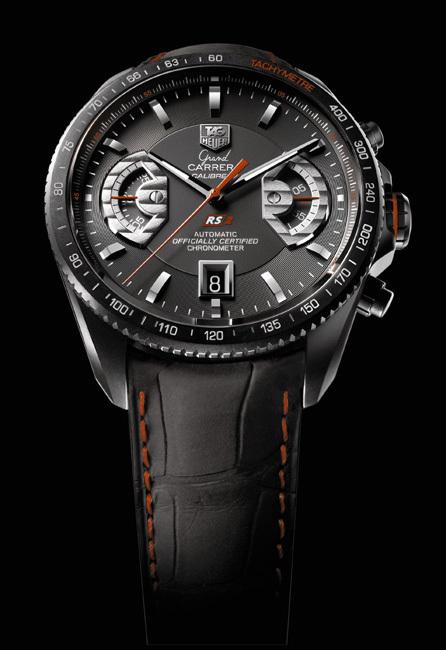 TAG Heuer : un chrono Grand Carrera et un téléphone Meridiist dans un coffret de luxe sur-mesure Pinel & Pinel