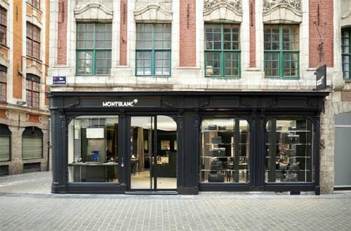 Montblanc : réouverture de sa boutique lilloise