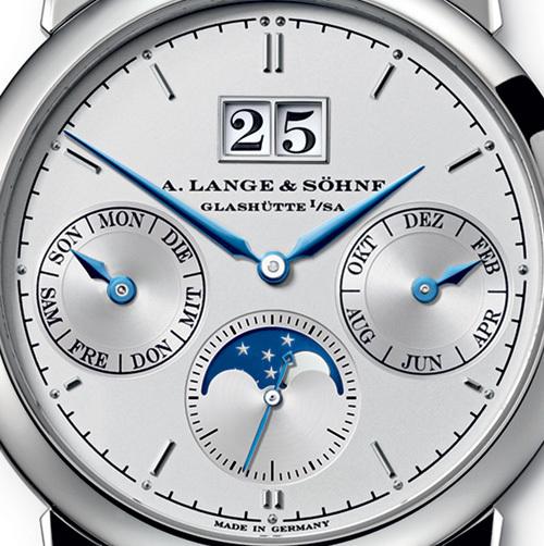Lange & Söhne Saxonia Calendrier Annuel : belle tout simplement…