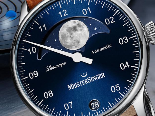 MeisterSinger Lunascope : une seule aiguille mais une grande Lune