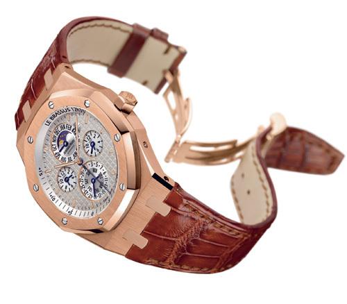 Audemars Piguet propose une Royal Oak dotée de l'équation du temps…