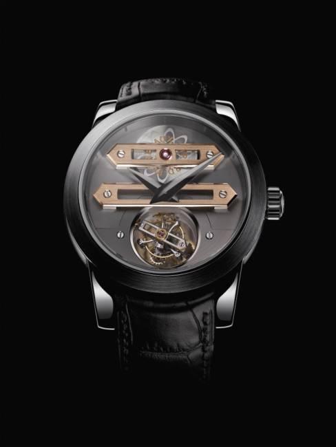 Girard-Perregaux Tourbillon Bi-axial or gris : 33 pièces pour le monde