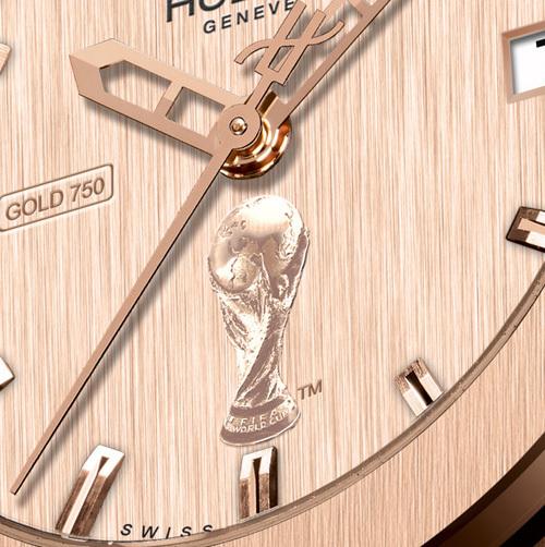 Hublot Classic Fusion Gold World Cup : pour tout l'or de la Coupe du Monde