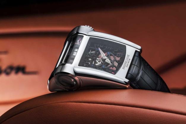 La Bugatti de Parmigiani Fleurier se gare chez Nous