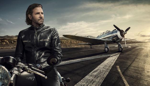 IWC lance une campagne de com' avec Bradley Cooper