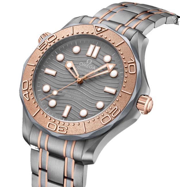 Omega Seamaster Diver 300M Titanium Tantalum Edition Limitée