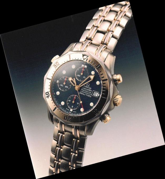 Omega Seamaster Diver 300M : trois métaux pour une plongeuse