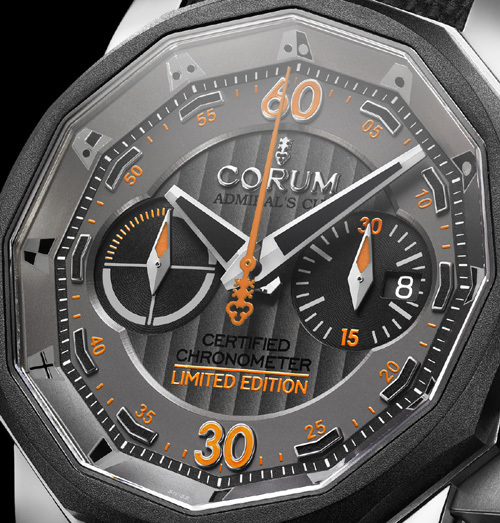 Admiral's Cup Chronograph 48 Grand Prix Corum : montre officielle du Grand Prix Corum 2010