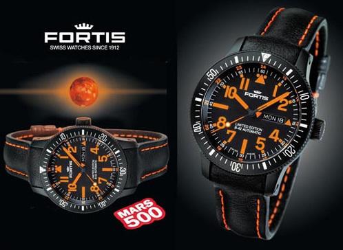 Fortis s'embarque pour 520 jours vers la planète Mars avec la Fortis Mars 500