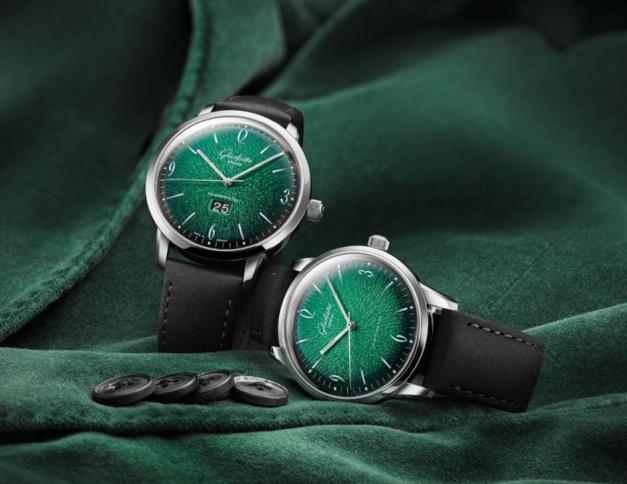 Glashütte Original : la Sixties se met au vert