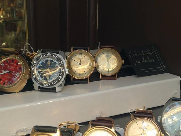 Prague : Old Clocks, des montres de collection et vintage en plein quartier juif