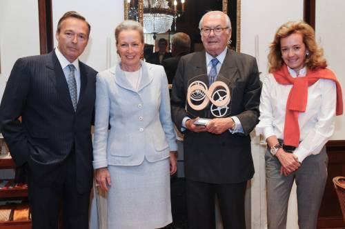 Chopard : Karl Scheufele reçoit le prix «Hommage à la Passion»
