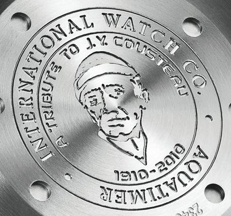 Aquatimer Chronographe Edition Jacques-Yves Cousteau : IWC rend hommage à Cousteau pour le 100e anniversaire de sa naissance
