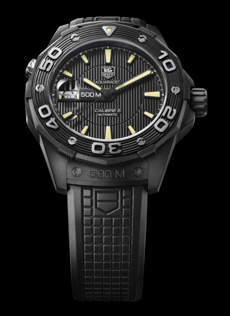 Aquaracer 500M Calibre 5 « Full Black »