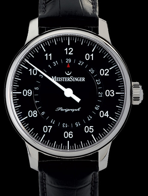 Perigraph MeisterSinger : l'heure exacte... à quelques minutes près !