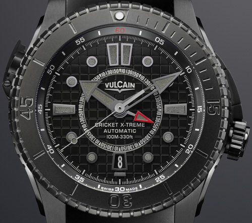 Vulcain Cricket X-Treme automatique Air Force 1 « All Black » : une furtive qui ne passe pas inaperçue…