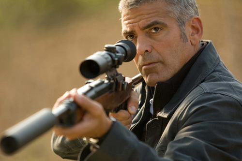 The American avec George Clooney, copyright Mars Distribution