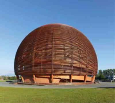 Le CERN à Genève, DR
