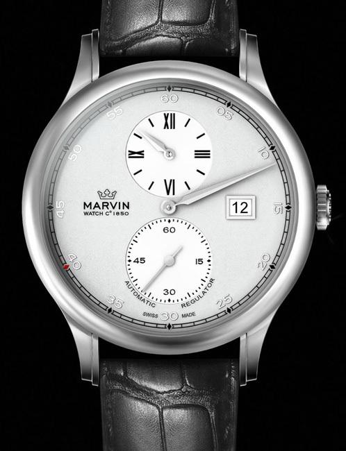 Marvin Malton 160 Ronde : une collection de quatre montres imaginée par Jean-François Ruchonnet