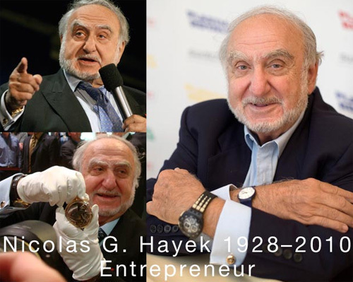 Nicolas G. Hayek, président du Swatch Group décède à l'âge de 82 ans : un grand nom de l'horlogerie disparait