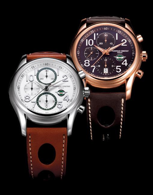 Healey Chronographe Automatique : série limitée livrée avec un chrono de sport mécanique