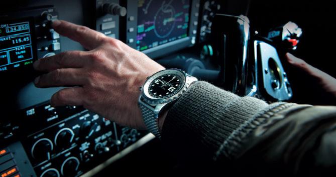 Chronospace Breitling : le nouvel instrument pour pilotes de la marque au B ailé