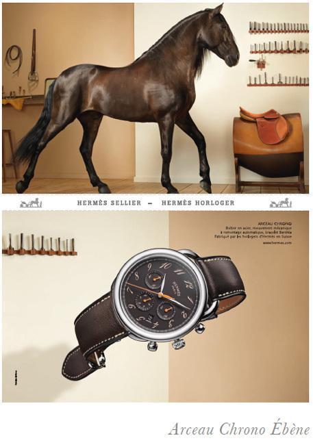 Campagne horlogère Hermès