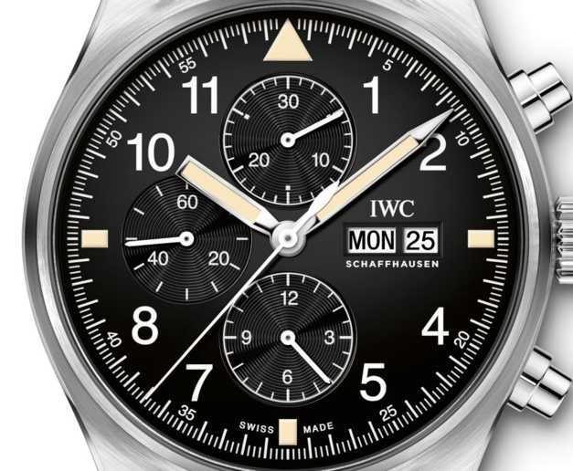 IWC Montre d'Aviateur Chronographe Fliegerchronograph
