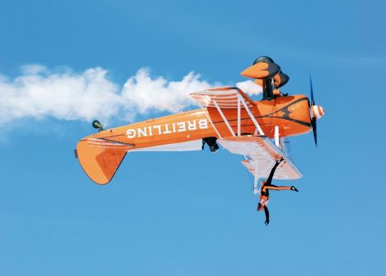 Breitling Wingwalkers : des exploits… renversants !
