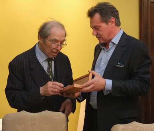François-Paul Journe rend hommage à George Daniels