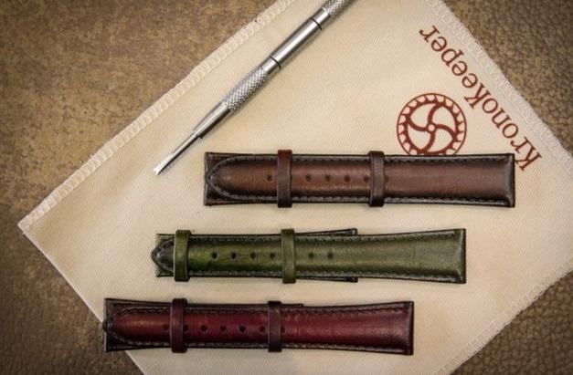 Kronokeeper : lancement d'une collection de bracelets patinés