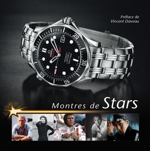 Montres de stars : beau livre de Vincent Daveau sur les stars et leurs montres