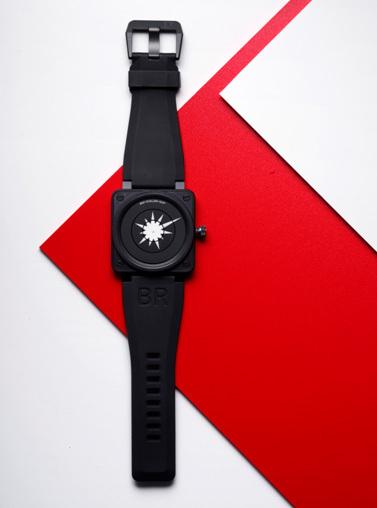 Bell & Ross et Jonathan Ellery créent une montre unique pour le magazine Wallpaper Handmade Issue Special