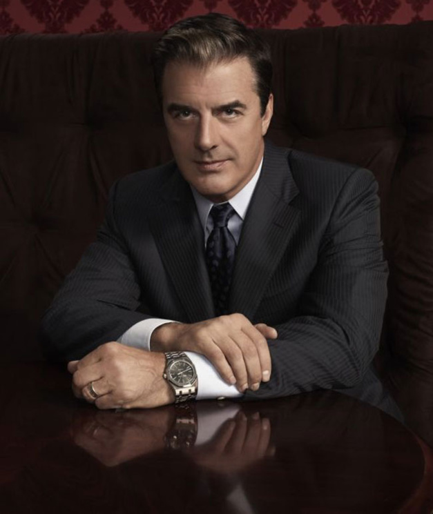 Chris Noth Royal Oak Audemars Piguet