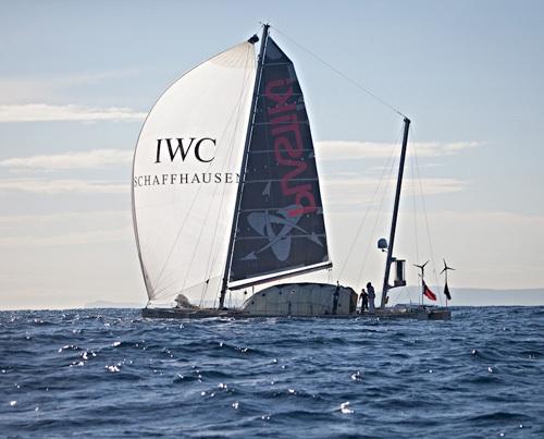 Plastiki et IWC, Crédit photo : Luca Babini