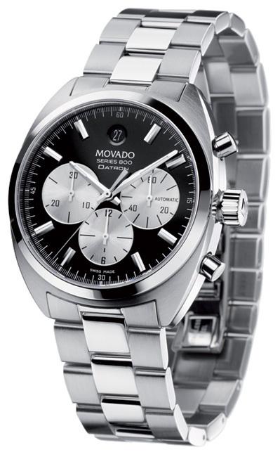 Movado Datron Chronograph : un chrono vintage dans un boitier tonneau