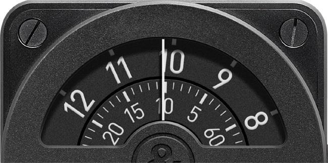 Instrument BR 01-92 Compass : une lecture du temps inspirée d'un outil de navigation aérienne