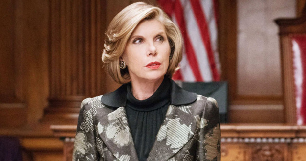 The good wife : Christine Baranski porte une montre Van Cleef & Arpels Charms