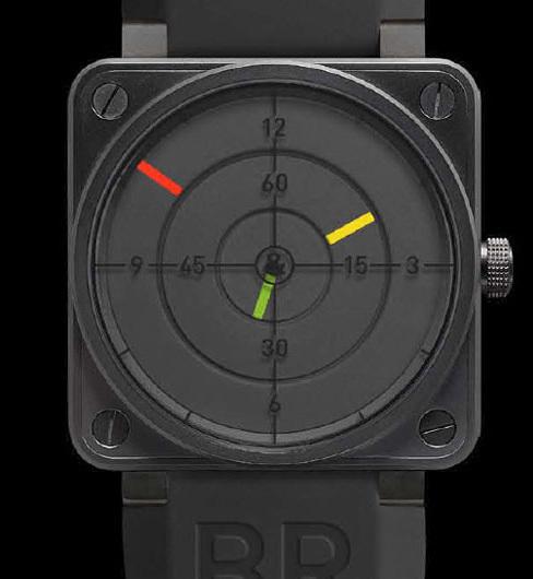 Instrument BR 01 Radar Bell & Ross en exclusivité chez Colette fin août
