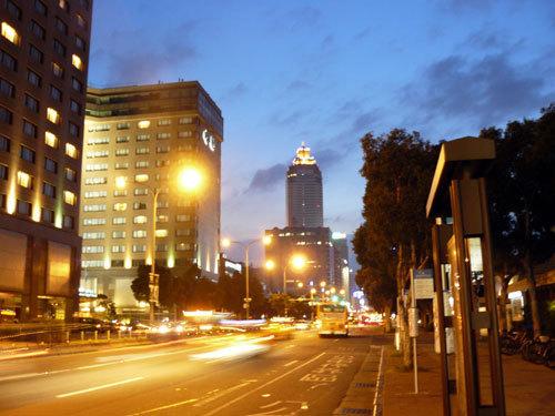 Taipei, le soir se couche...