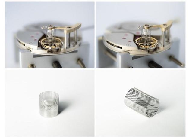 Genève : présentation d'un nouveau spiral cylindrique
